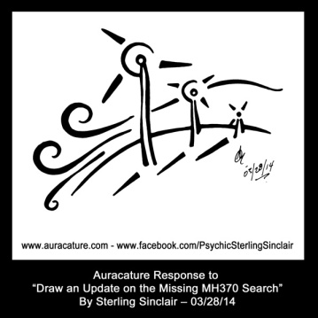 Psychic Sterling Sinclair Auracature Psychic Message Missing Passenger Staff Family Families Missing Plane Malaysia Flight MH370 370 March 28 2014 Wind Turbines Winds of Change