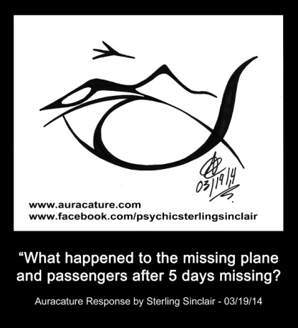 Psychic Sterling Sinclair Missing Plane Malaysia Flight MH370 4