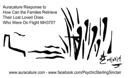 Psychic Sterling Sinclair Auracature Missing Malaysia Plane Flight MH370 370 April 3 2014 4