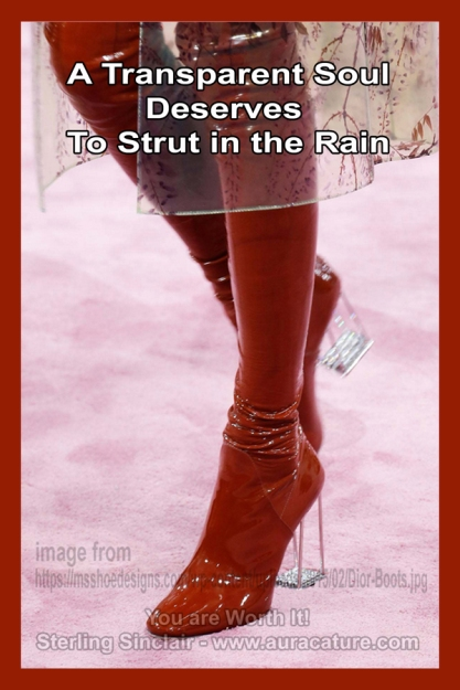 Oracle Sterling Sinclair Psychic Auracature Art Womens Fashion Sexy tall high boots red pantent leather rain 2015 spring