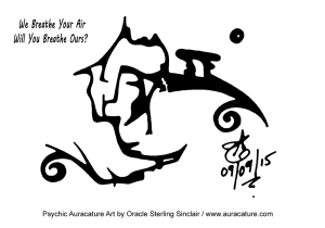 psychic auracature art oracle psychic sterling sinclair breathe air september 9 2015